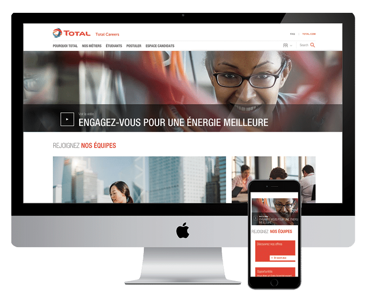 Site Careers de Total